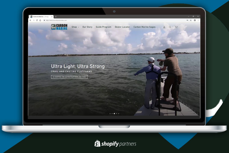 Marine Manufacturer Lands New Shopify E-commerce Store