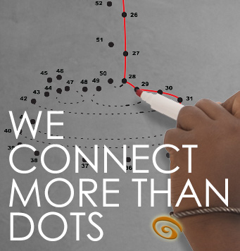 We connect more than dots